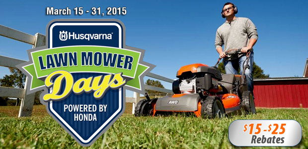 Husqvarna Powered By Honda Rebates