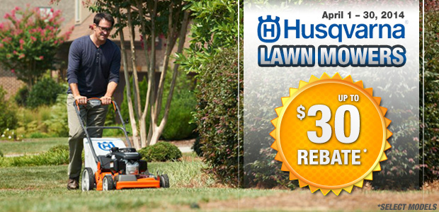 Husqvarna Walk Behind Lawn Mower Rebates