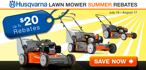 Husqvarna Lawn Mower Summer Savings