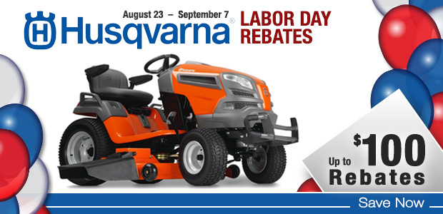 Husqvarna Labor Day Rebates