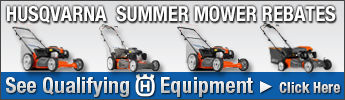 Husqvarna Summer Mower Rebates Qualifying Equipment