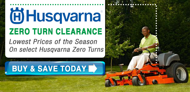 Husqvarna Zero Turn Sale