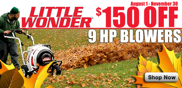 Little Wonder 9 HP Sale