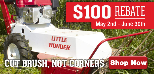 Little Wonder Brushcutter Rebate