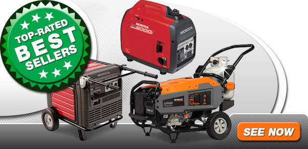 Best Selling Generators