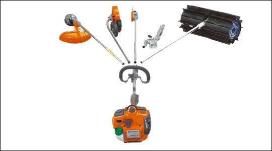 Split shaft trimmers