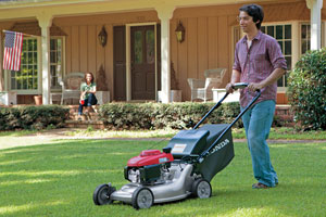 Honda Lawn Mowers and Equipment