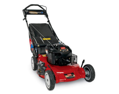 Toro super recycler 21 159cc personal pace lawn mower w for Best motor oil for lawn mowers