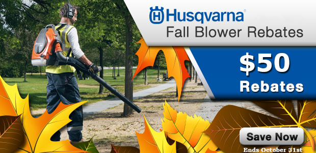 Husqvarna Fall Blower Rebates