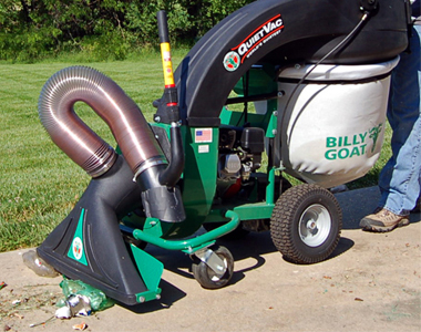 Billy Goat Leaf Vacuum Review