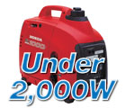 Generators Under 2000 Watts